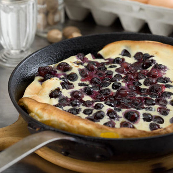 blueberry alpine pancake