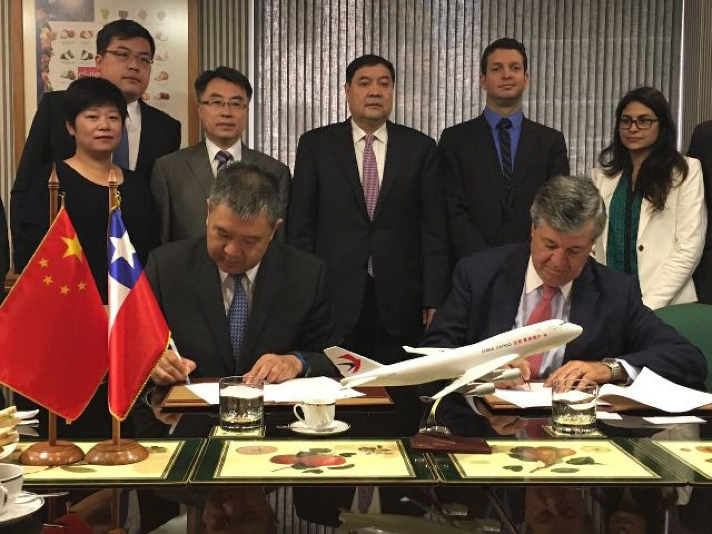 china eastern asoex fruits from chile signature agreement ronal bown fruits cherries cherry