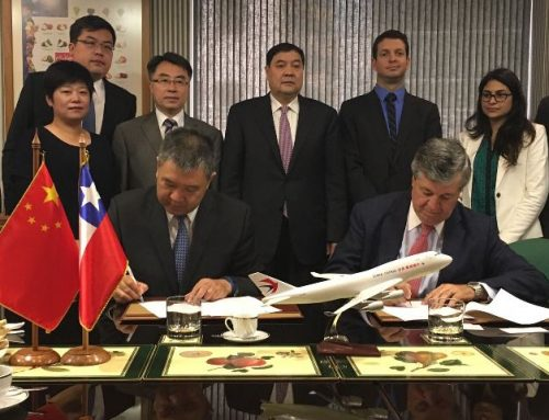 China Eastern Airlines will promote Fruits from Chile
