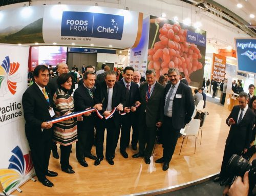 "News App and website ""Fruits From Chile""  were presented at Fruit Logistica 2017"