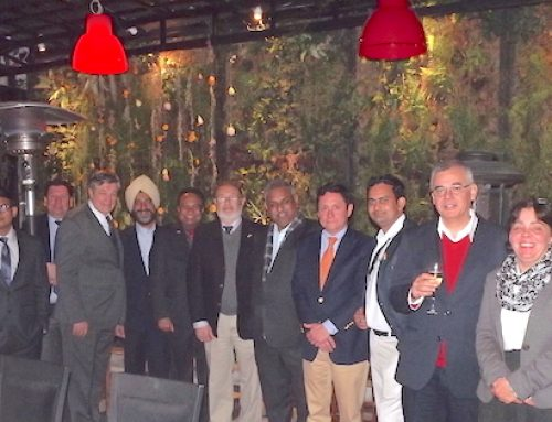 Indian delegation visits the Chilean fruit industry