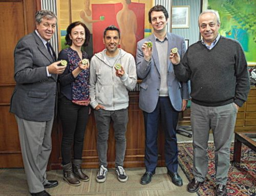 Fruits from Chile sponsors to Chilean ultra-marathoner
