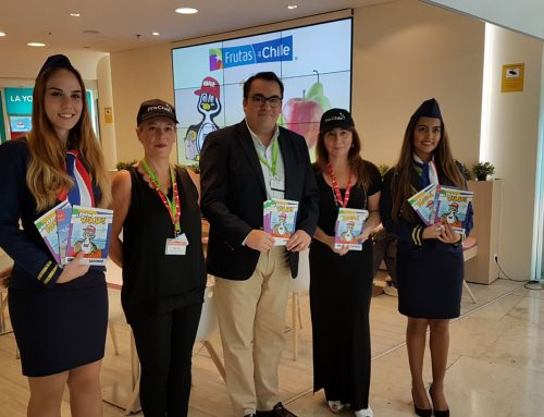 Chilean industry launches first-ever airport promotion its fresh fruits