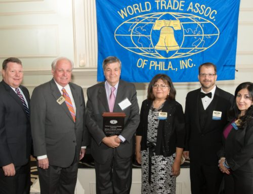 President of ASOEX receives recognition from the WTA of Philadelphia