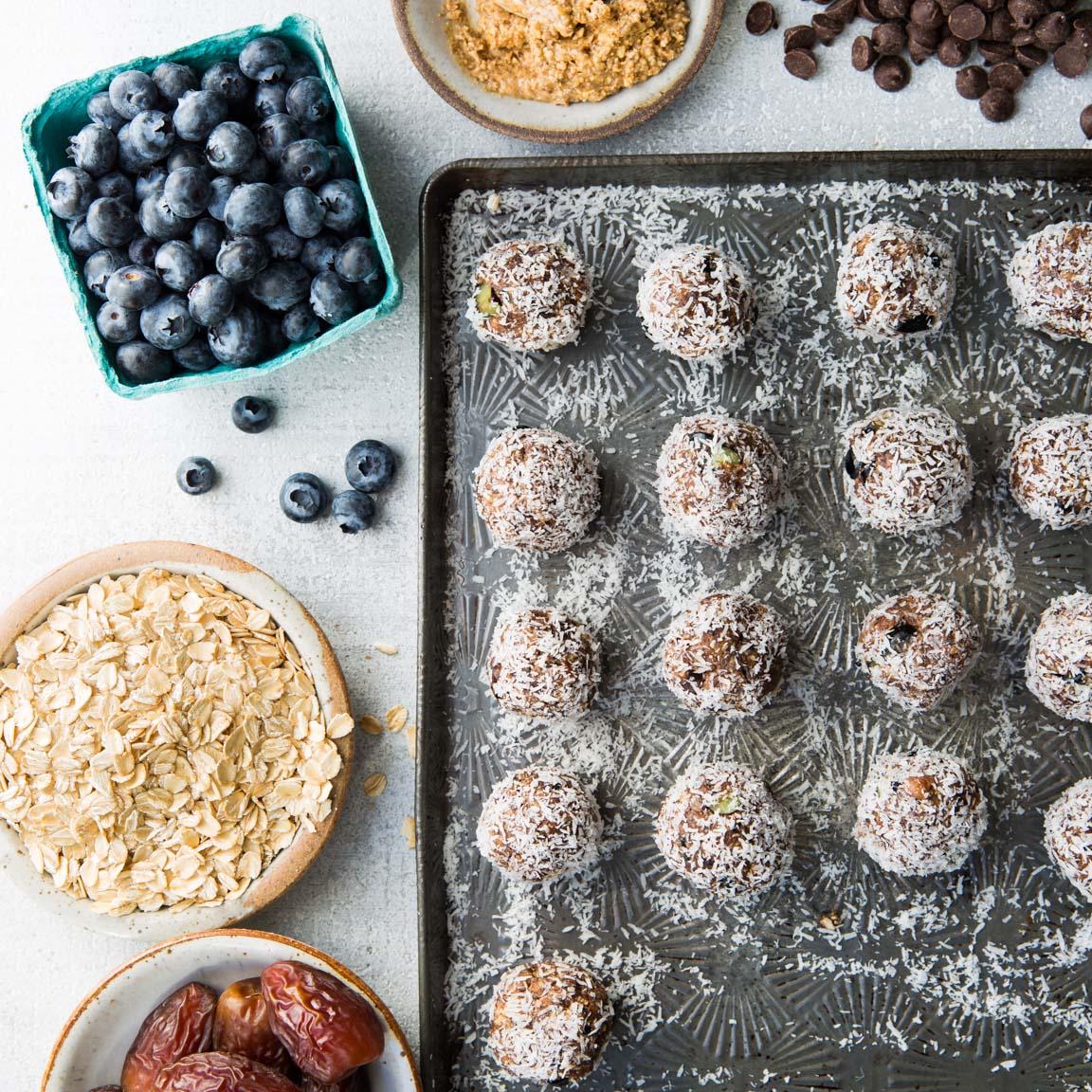 Blueberry Power Superfood Bites