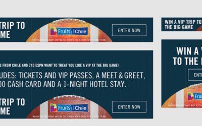 """Chilean Fresh Fruit Association Launches """"Super Fruit Bowl"""" Campaign"""